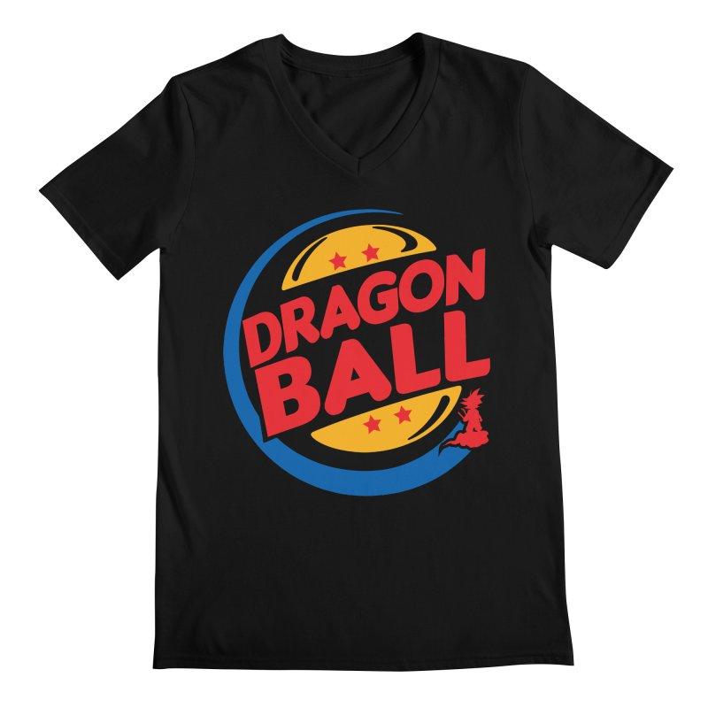 Dragon Ball Men's V-Neck by Daletheskater