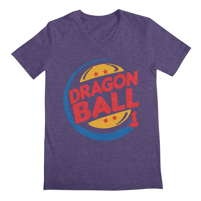 Dragon Ball Men's V-Neck by Daletheskater