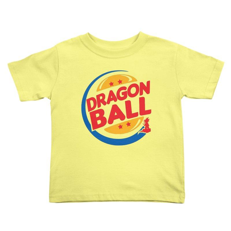 Dragon Ball Kids Toddler T-Shirt by Daletheskater