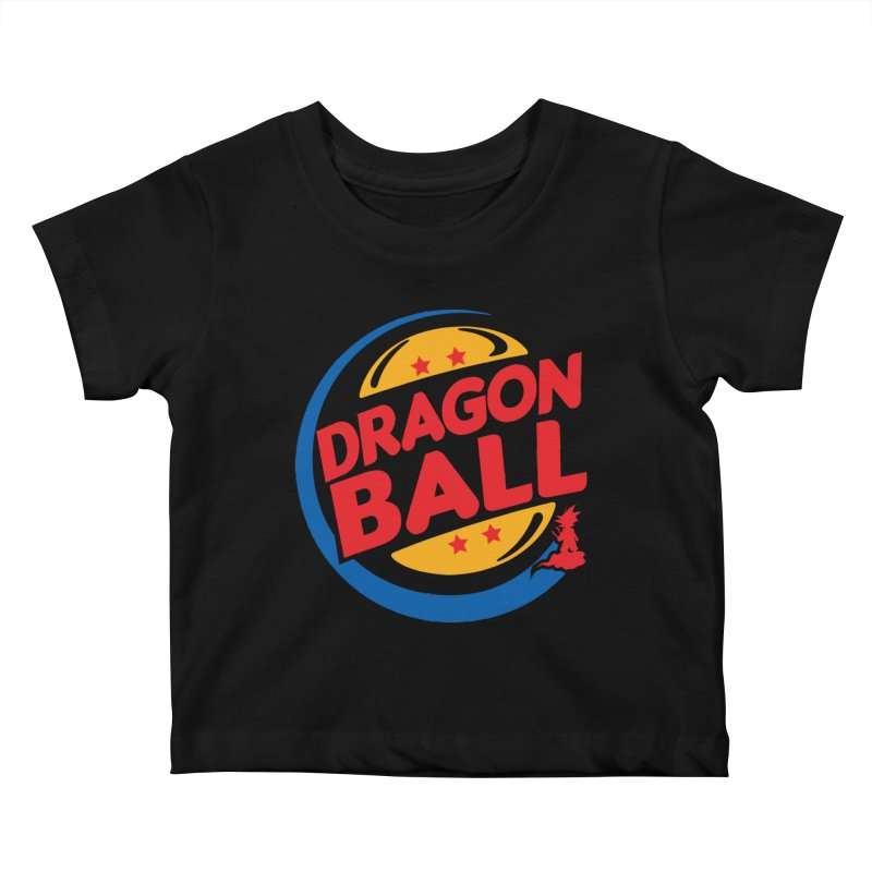 Dragon Ball Kids Baby T-Shirt by Daletheskater