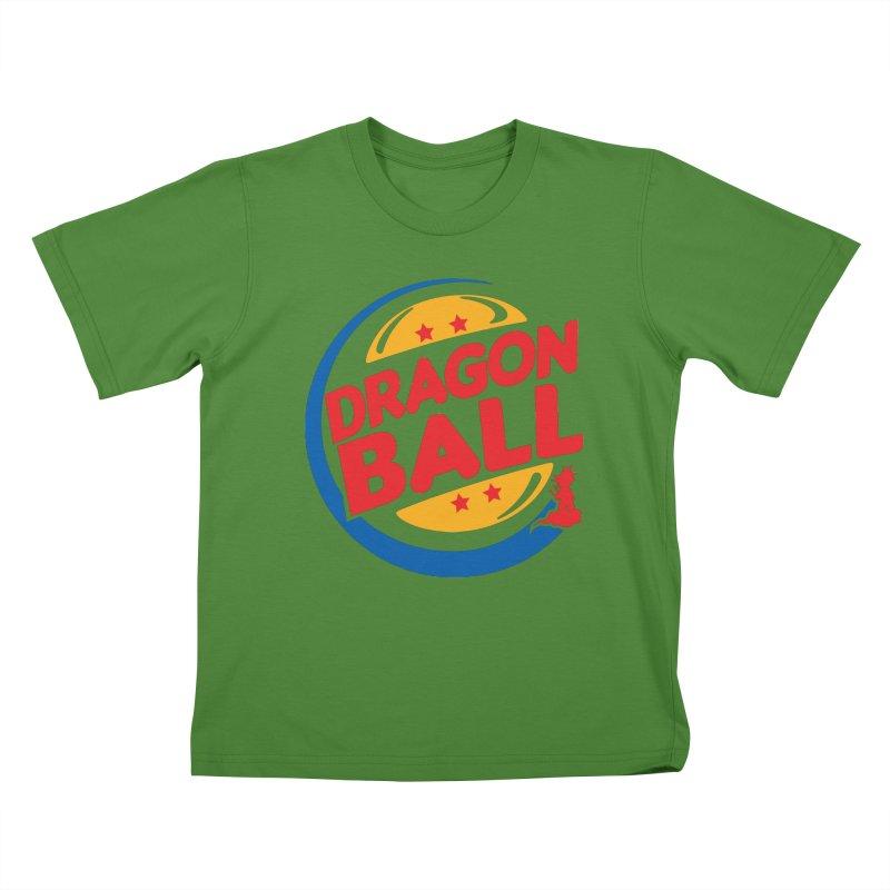 Dragon Ball Kids T-Shirt by Daletheskater
