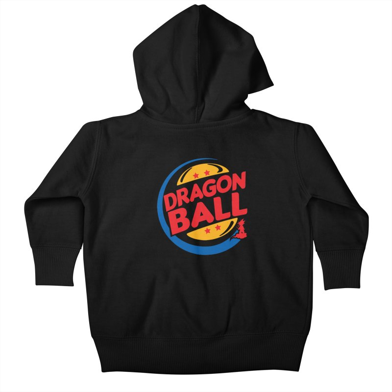 Dragon Ball Kids Baby Zip-Up Hoody by Daletheskater