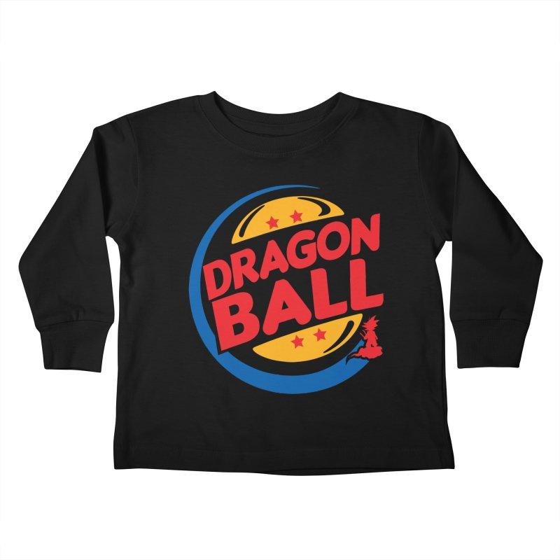 Dragon Ball Kids Toddler Longsleeve T-Shirt by Daletheskater