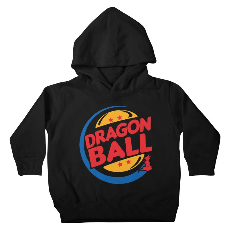 Dragon Ball Kids Toddler Pullover Hoody by Daletheskater
