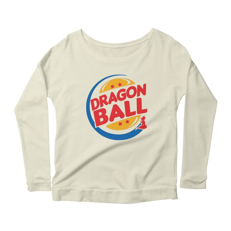 Dragon Ball Women's Longsleeve Scoopneck  by Daletheskater