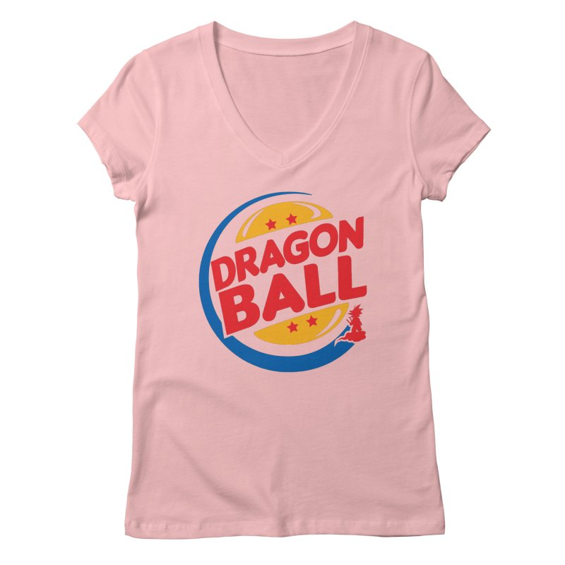 Dragon Ball Women's V-Neck by Daletheskater
