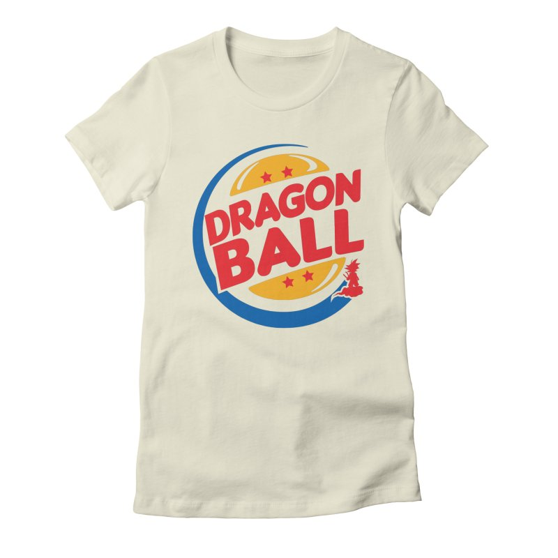 Dragon Ball Women's Fitted T-Shirt by Daletheskater