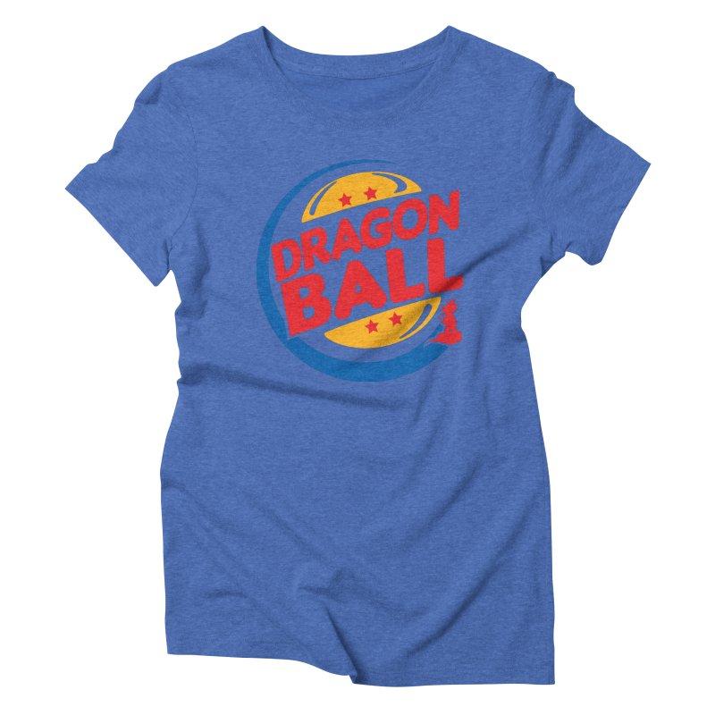 Dragon Ball Women's Triblend T-Shirt by Daletheskater