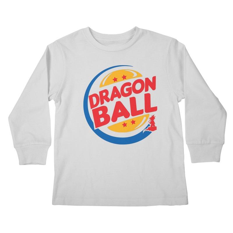 Dragon Ball Kids Longsleeve T-Shirt by Daletheskater