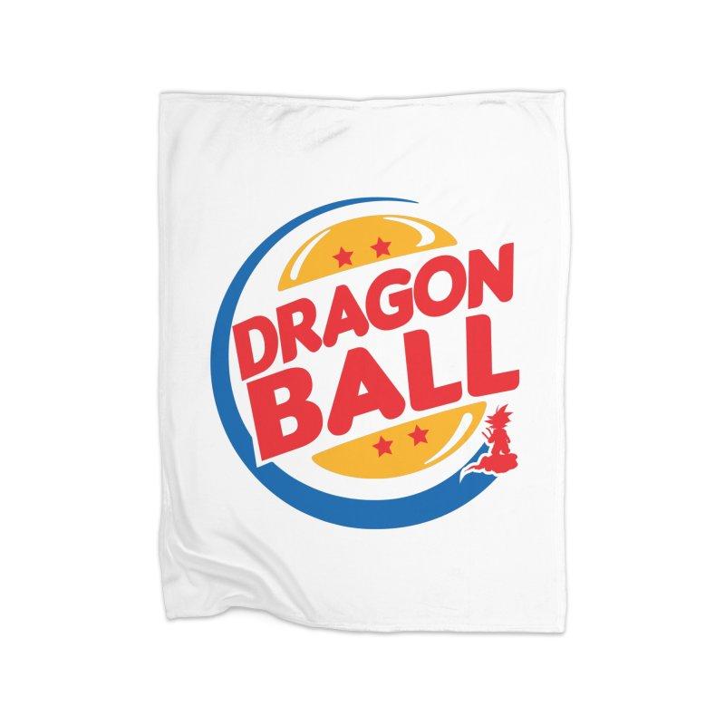 Dragon Ball Home Blanket by Daletheskater