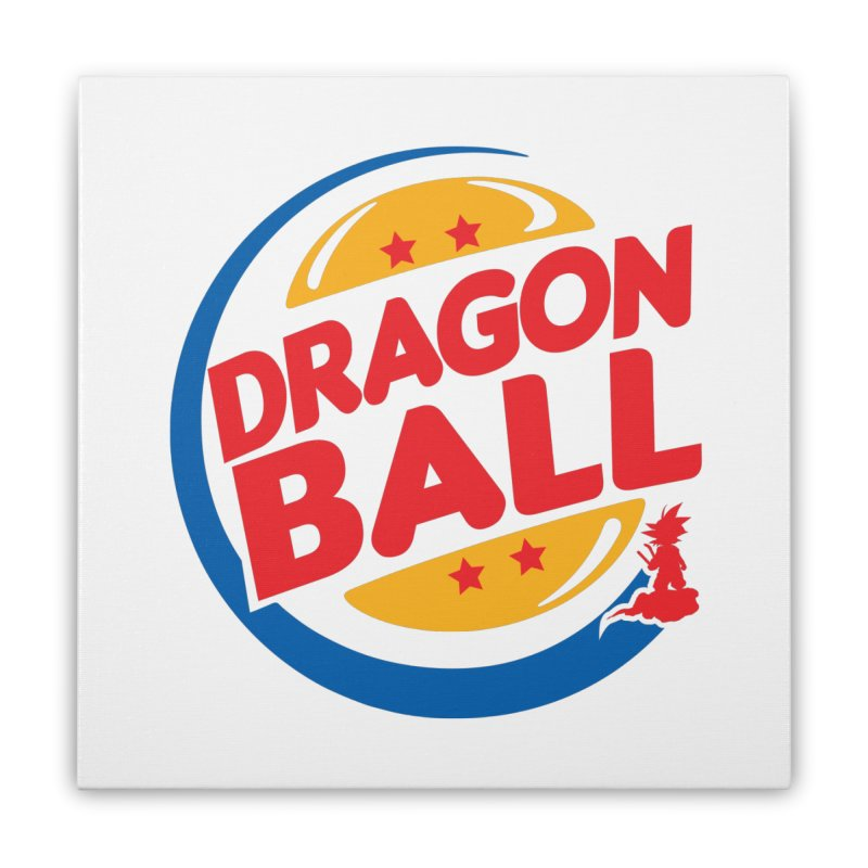 Dragon Ball Home Stretched Canvas by Daletheskater