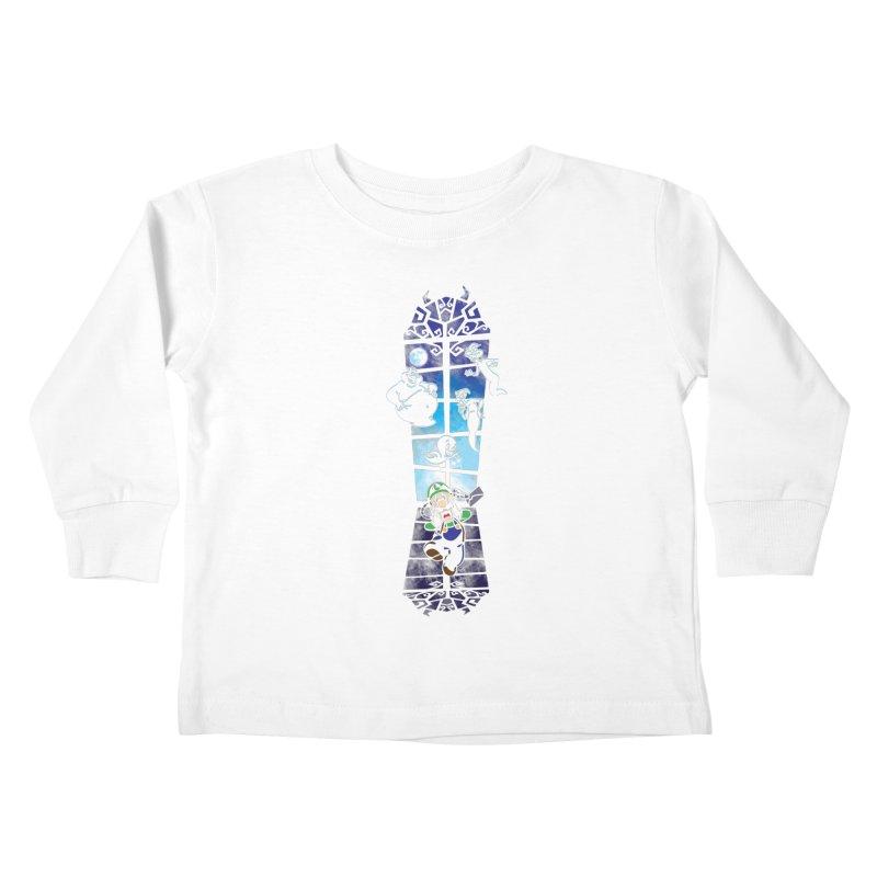 Surprise Visit Kids Toddler Longsleeve T-Shirt by Daletheskater