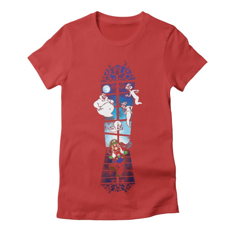 Surprise Visit Women's Fitted T-Shirt by Daletheskater