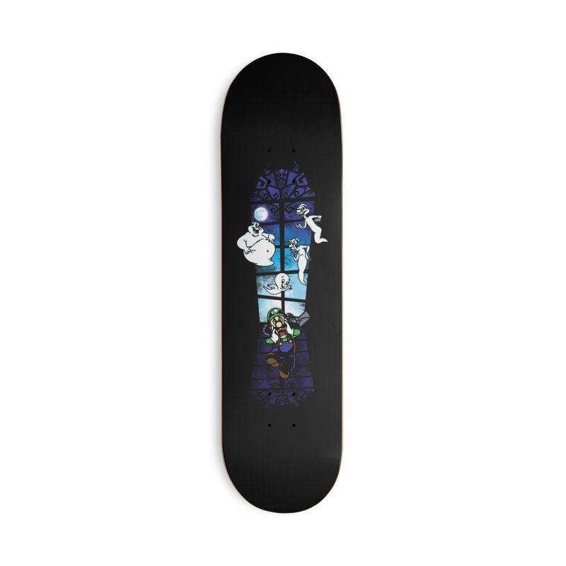 Surprise Visit Accessories Deck Only Skateboard by Daletheskater