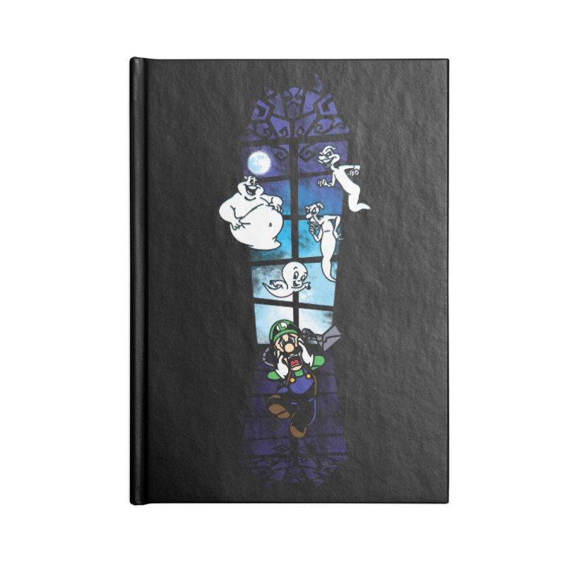 Surprise Visit Accessories Lined Journal Notebook by Daletheskater