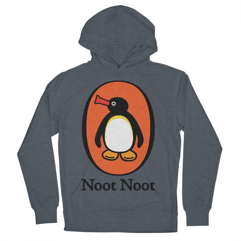 Noot Noot Women's French Terry Pullover Hoody by Daletheskater
