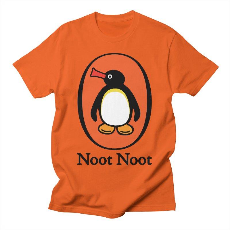 Noot Noot Men's Regular T-Shirt by Daletheskater