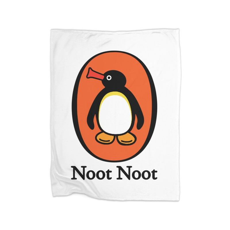 Noot Noot Home Fleece Blanket Blanket by Daletheskater
