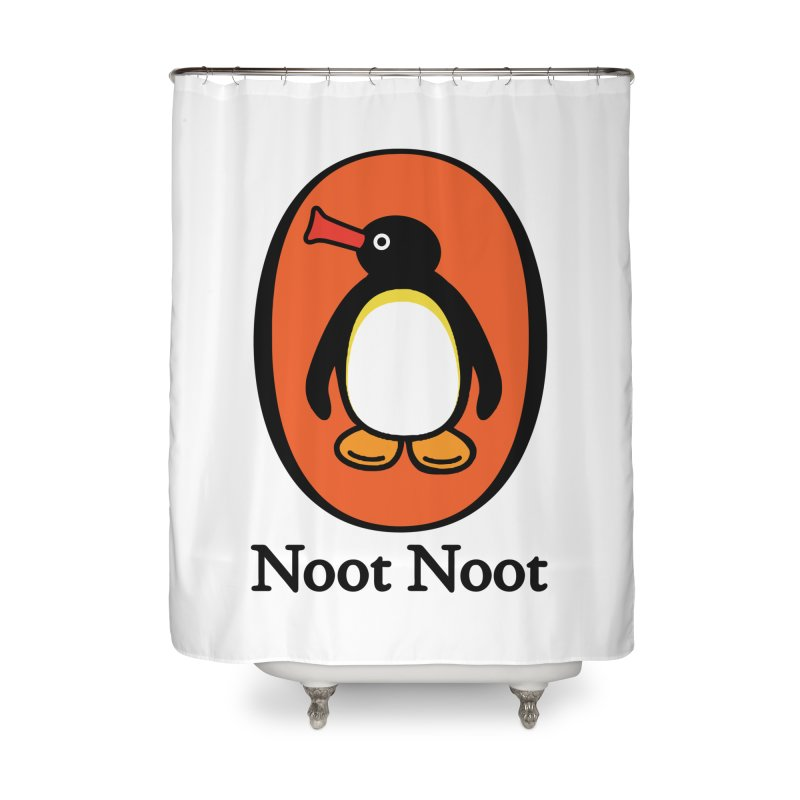 Noot Noot Home Shower Curtain by Daletheskater