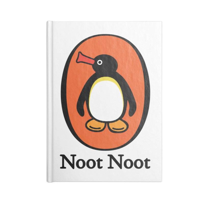 Noot Noot Accessories Lined Journal Notebook by Daletheskater