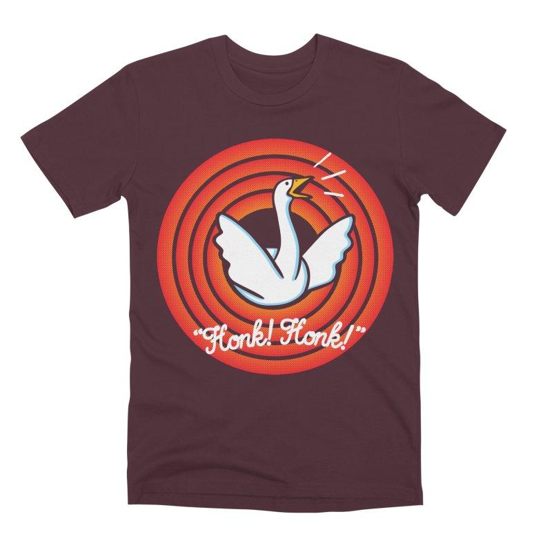 Honk! Honk! Men's Premium T-Shirt by Daletheskater