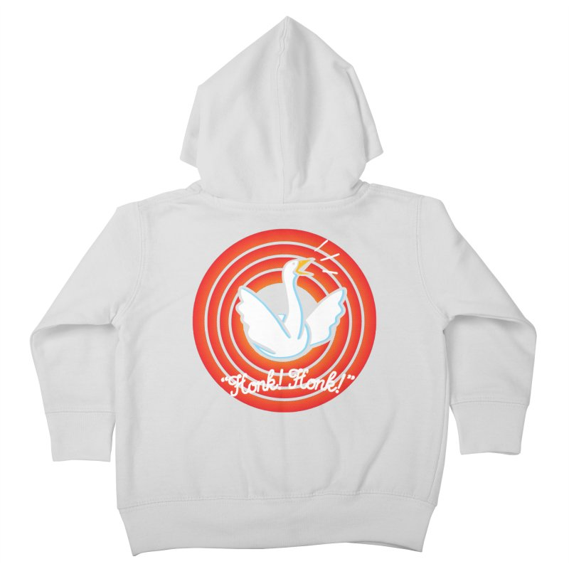 Honk! Honk! Kids Toddler Zip-Up Hoody by Daletheskater