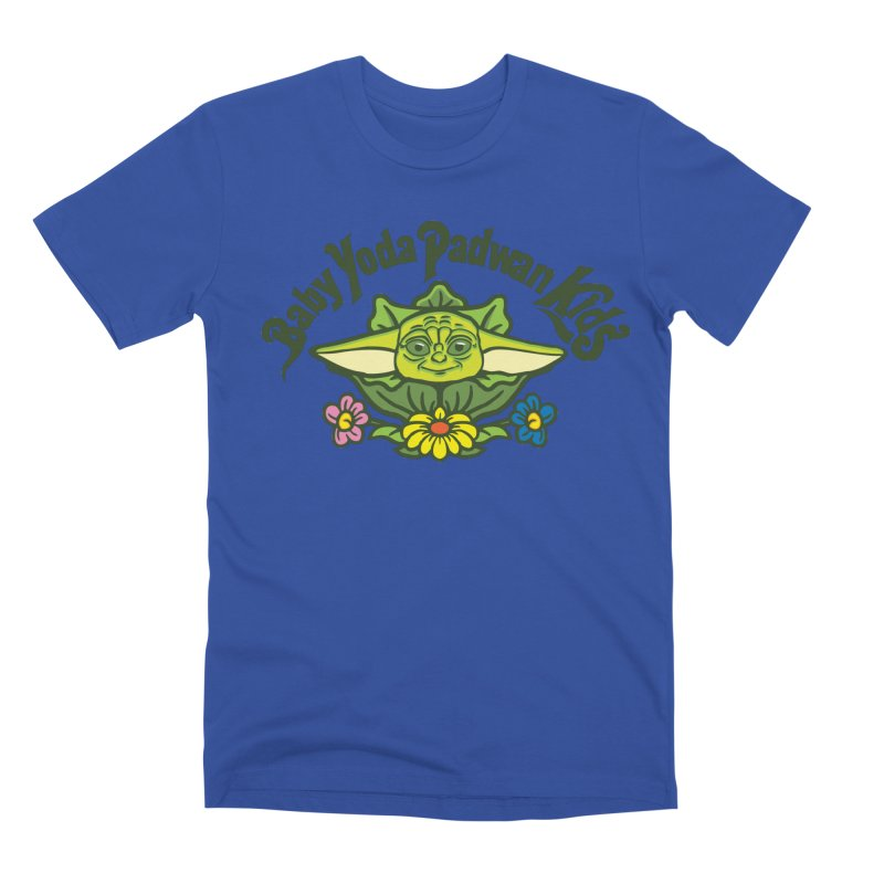 Baby Yoda Padwan Kids Men's Premium T-Shirt by Daletheskater