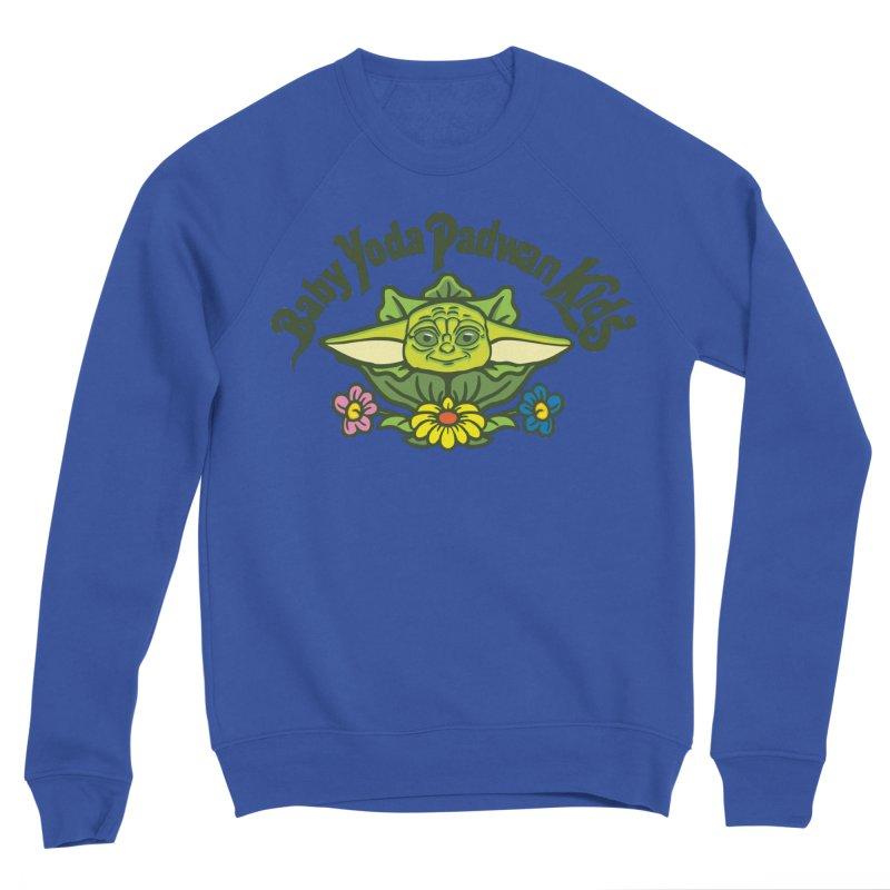 Baby Yoda Padwan Kids Women's Sponge Fleece Sweatshirt by Daletheskater