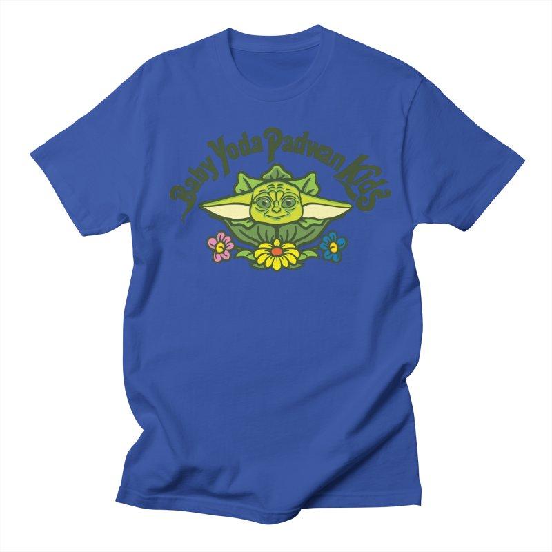 Baby Yoda Padwan Kids Women's Regular Unisex T-Shirt by Daletheskater