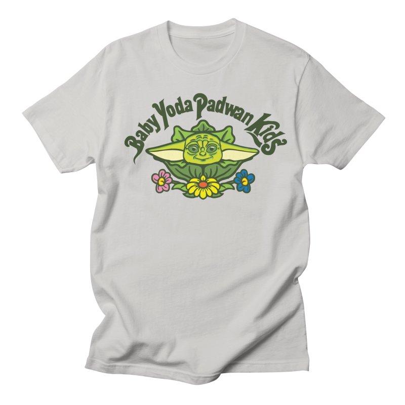 Baby Yoda Padwan Kids Men's Regular T-Shirt by Daletheskater