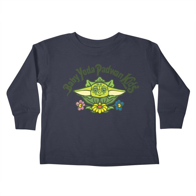 Baby Yoda Padwan Kids Kids Toddler Longsleeve T-Shirt by Daletheskater