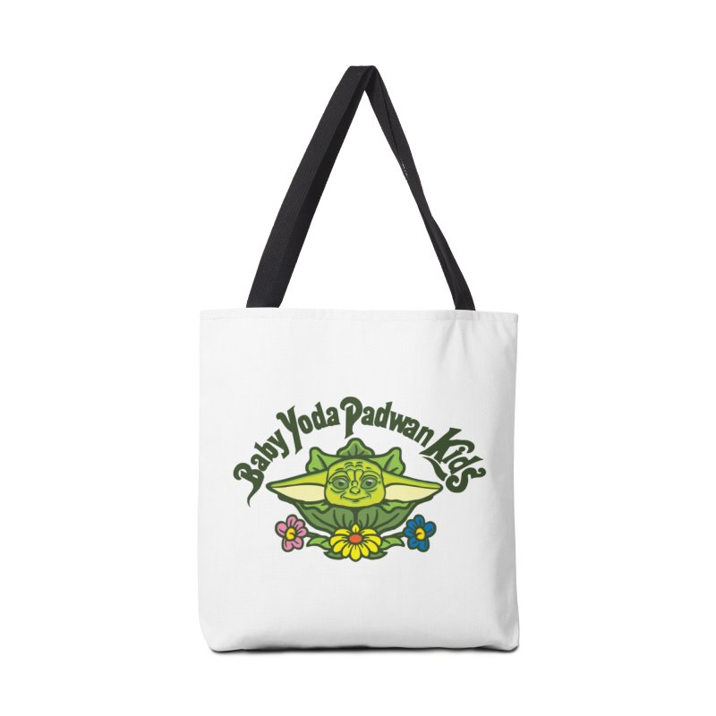 Baby Yoda Padwan Kids Accessories Tote Bag Bag by Daletheskater