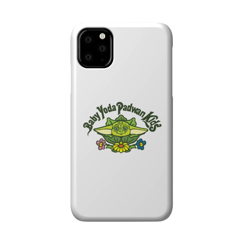Baby Yoda Padwan Kids Accessories Phone Case by Daletheskater