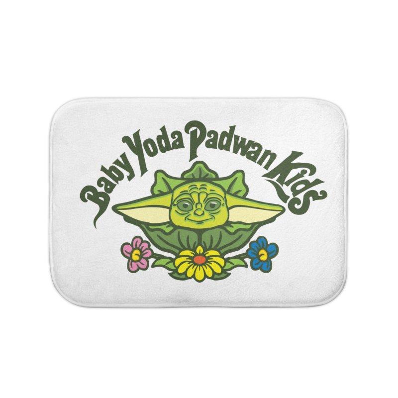 Baby Yoda Padwan Kids Home Bath Mat by Daletheskater