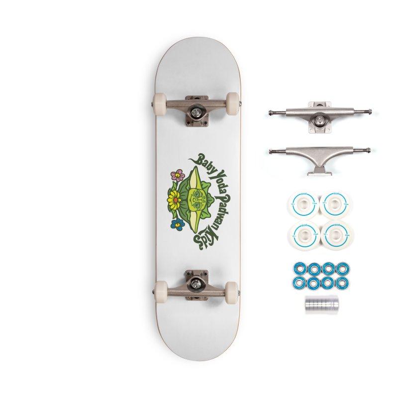 Baby Yoda Padwan Kids Accessories Complete - Basic Skateboard by Daletheskater