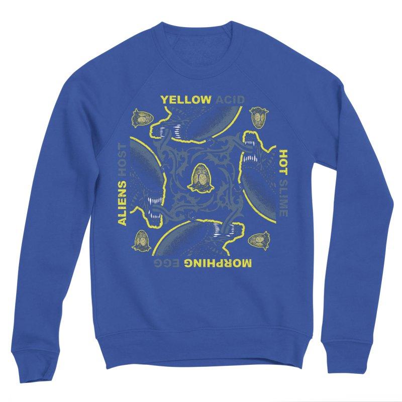Yellow Hot Morphing Aliens Women's Sponge Fleece Sweatshirt by Daletheskater