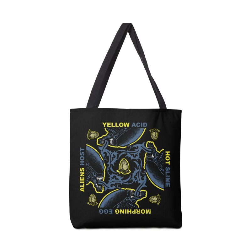 Yellow Hot Morphing Aliens Accessories Tote Bag Bag by Daletheskater