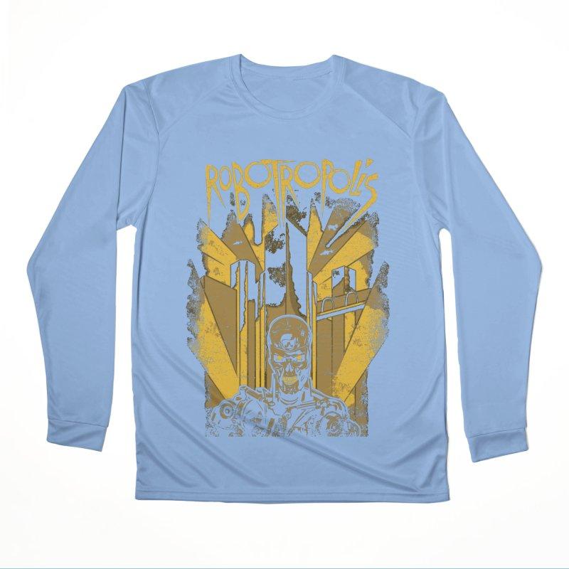 Robotropolis Men's Longsleeve T-Shirt by Daletheskater