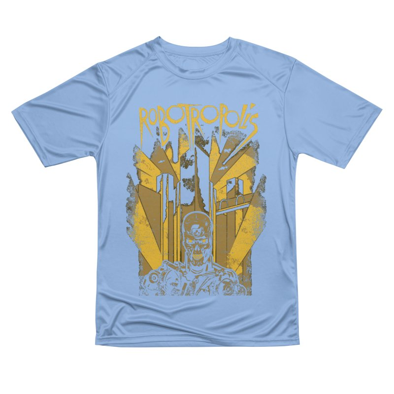 Robotropolis Women's T-Shirt by Daletheskater