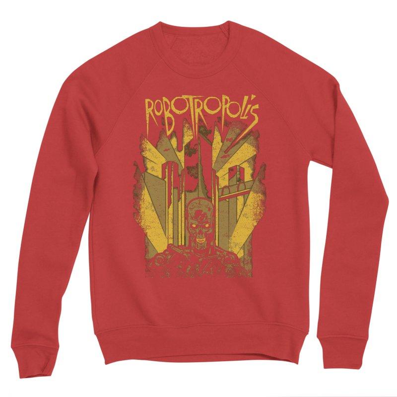 Robotropolis Women's Sponge Fleece Sweatshirt by Daletheskater