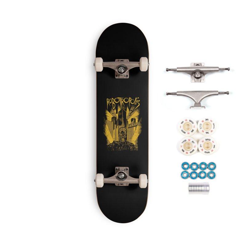 Robotropolis Accessories Complete - Premium Skateboard by Daletheskater