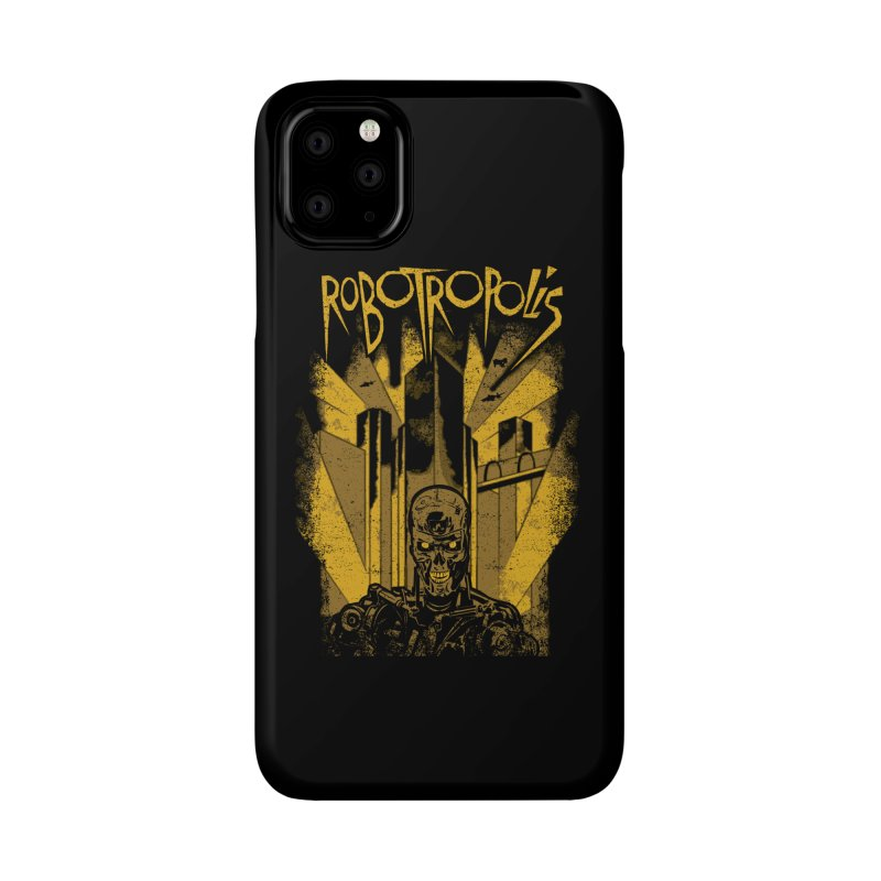 Robotropolis Accessories Phone Case by Daletheskater