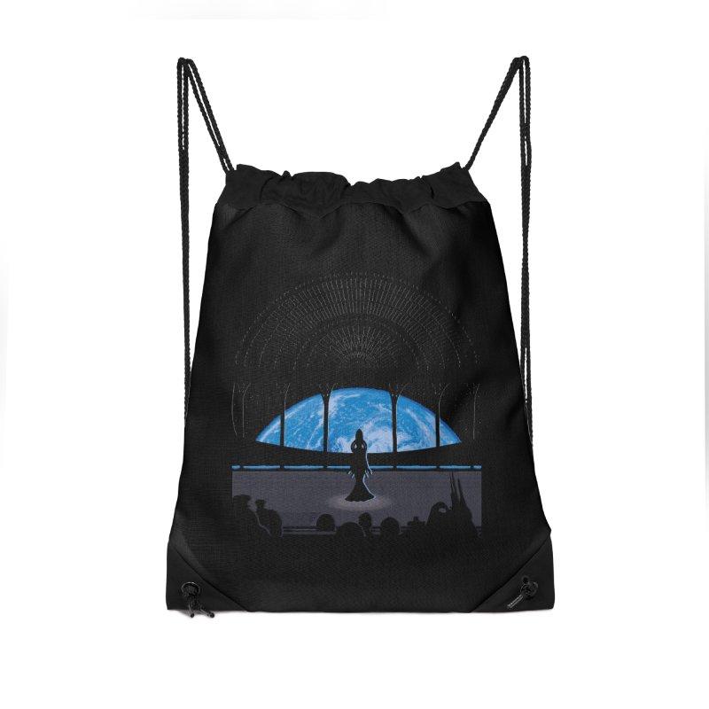 Diva Song Accessories Drawstring Bag Bag by Daletheskater