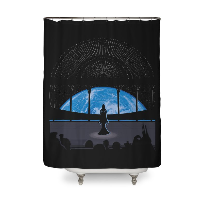 Diva Song Home Shower Curtain by Daletheskater
