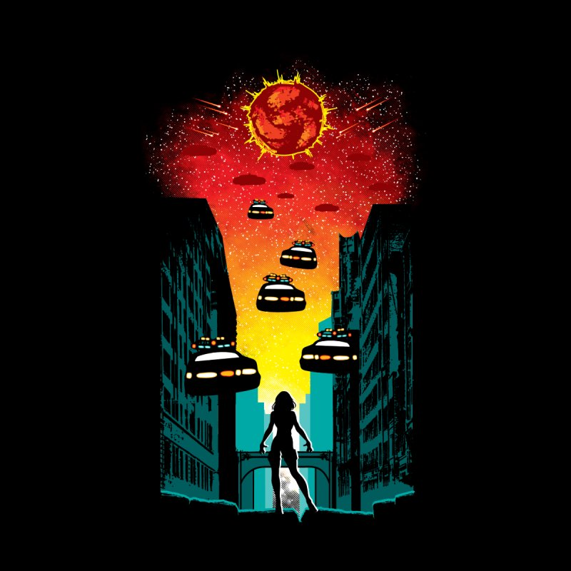 Space Fugitive Men's T-Shirt by Daletheskater