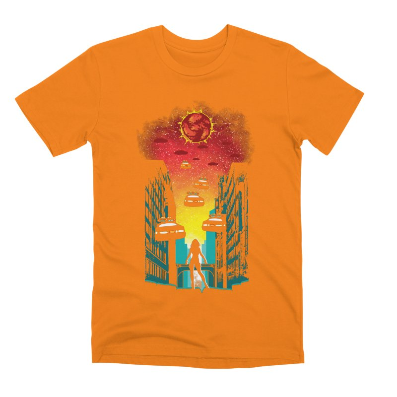 Space Fugitive Men's T-Shirt by Daletheskater