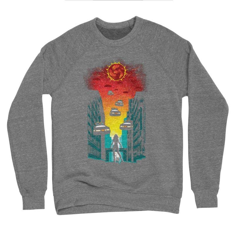 Space Fugitive Women's Sponge Fleece Sweatshirt by Daletheskater