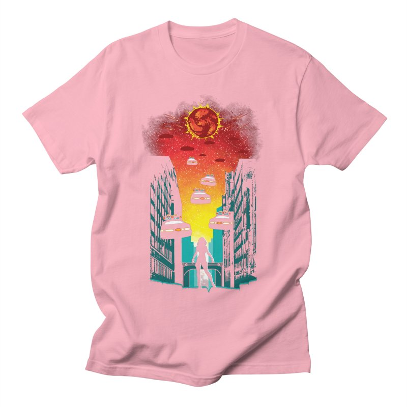 Space Fugitive Men's Regular T-Shirt by Daletheskater