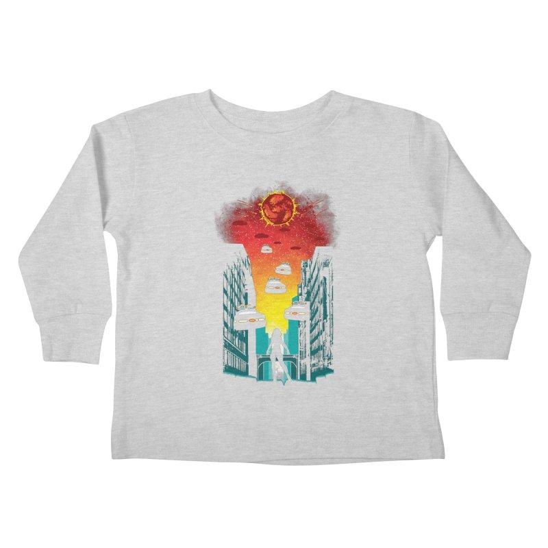 Space Fugitive Kids Toddler Longsleeve T-Shirt by Daletheskater