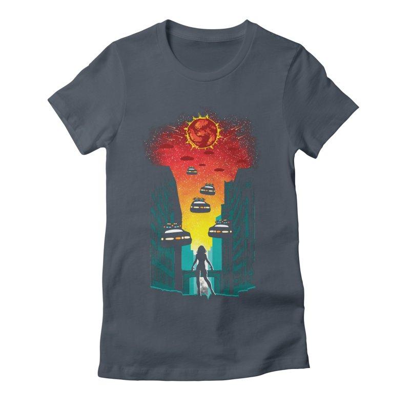 Space Fugitive Women's T-Shirt by Daletheskater